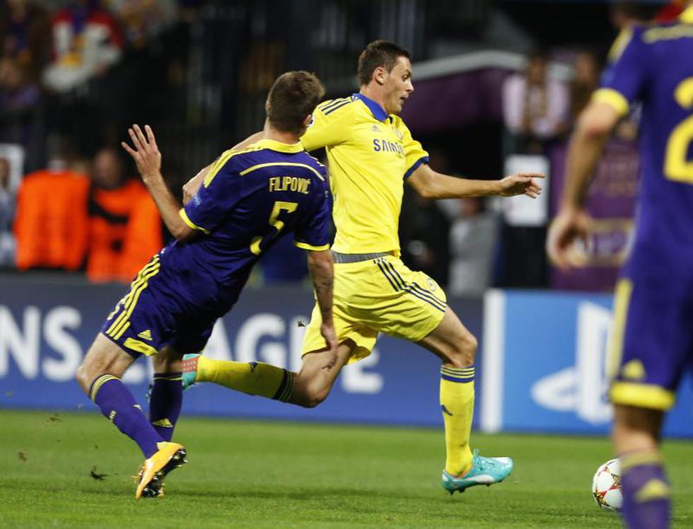Champions League: Chelsea no pasar del empate con el Maribor