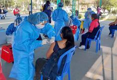 Quedan unos 130 mil jóvenes por vacunar en Arequipa