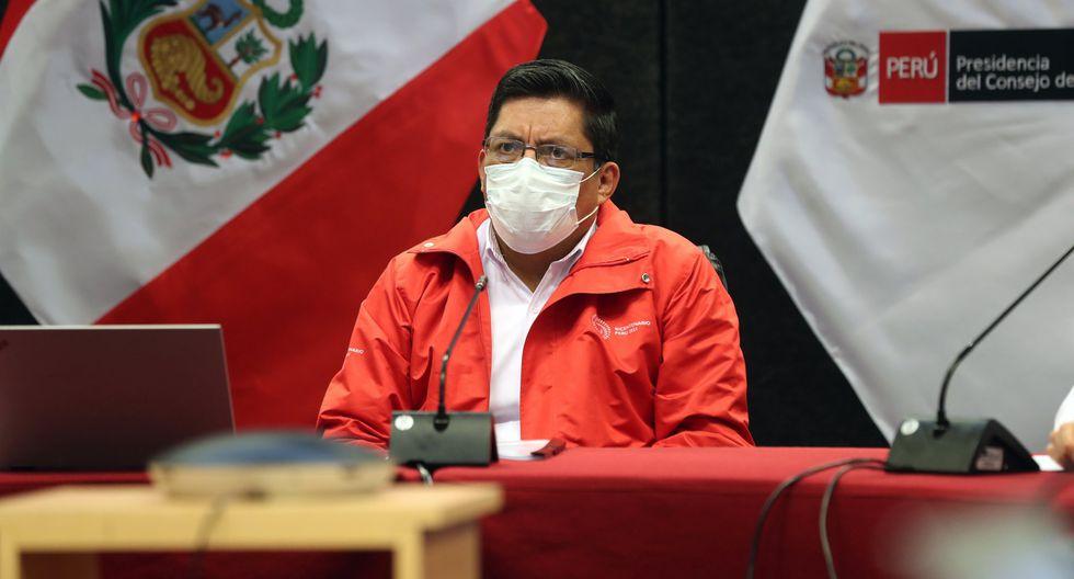 Primer ministro Vicente Zeballos (Foto: PCM)