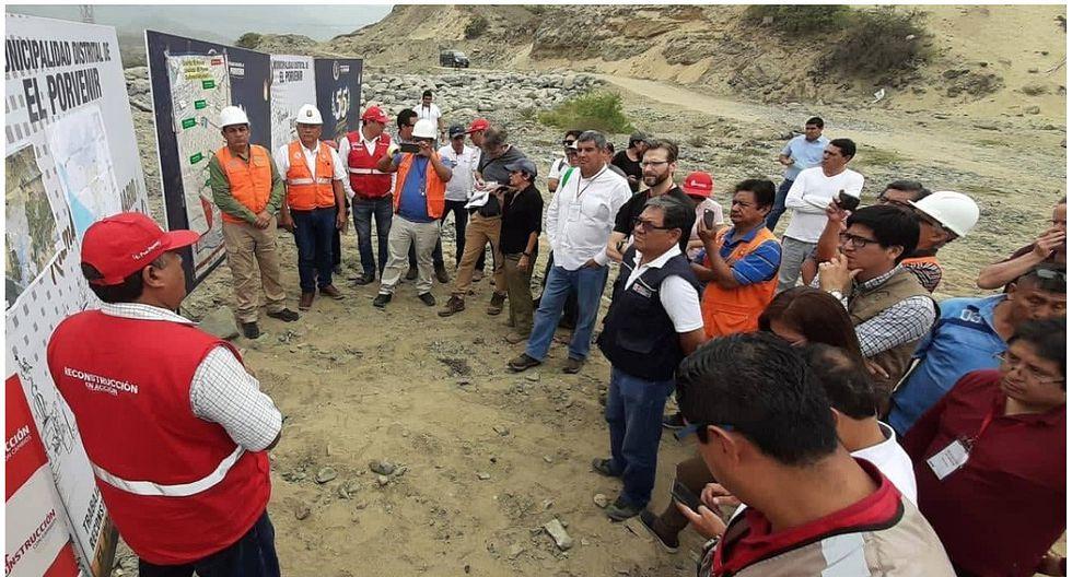 Colocarán más de 30 diques en la quebrada San Ildefonso