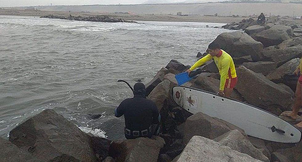 Encuentran cadáver de menor en playa de Salaverry (VIDEO)