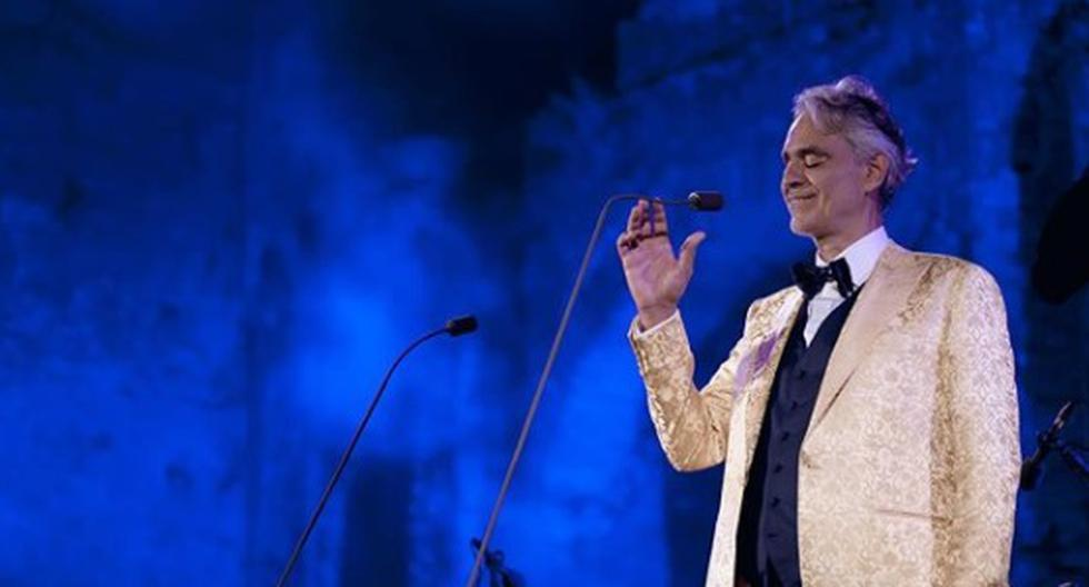 Andrea Bocelli, el tenor al que un pelotazo en la cabeza lo dejó ciego