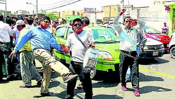 Choferes protestan contra la comuna