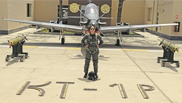 La joven de 24 años cuenta su historia de superación y del orgullo que siente de pertenecer a la Fuerza Aérea del Perú, que le ha permitido lograr sus sueños