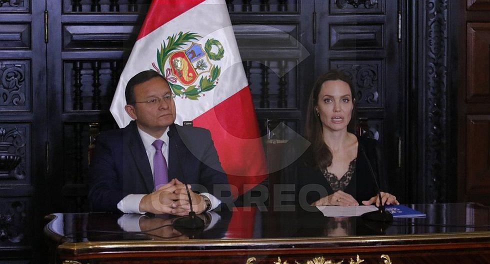 """Angelina Jolie: """"Los venezolanos en Perú no quieren caridad, sino oportunidades"""""""
