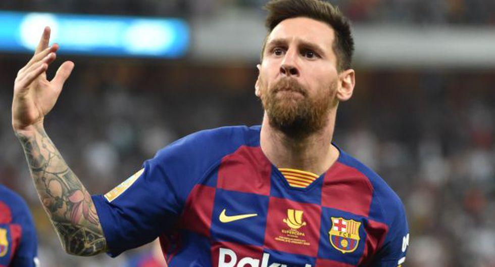 Con Lionel Messi, Barcelona recibe al Eibar por LaLiga Santander de España. (Foto: AFP)