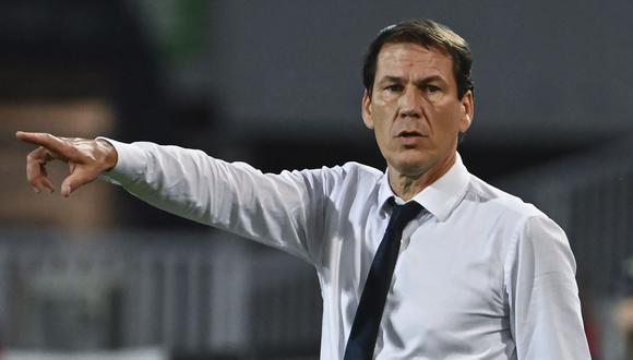 Rudi García es entrenador del Olympique Lyon desde el 2019. (Foto: AFP)