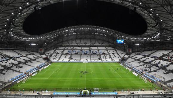 El estadio de la Olympique Marsella podría ser vendido por el coronavirus. (Foto: AFP)