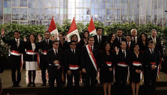 Estos son los ministros que forman el nuevo gabinete de Vicente Zeballos