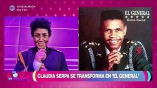 """Claudia Serpa interpreta al """"General"""" con la canción """"No me trates de engañar (VIDEO)"""
