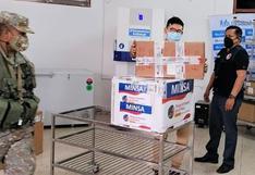 El ministro de Salud anuncia el envío de 170 mil vacunas a Piura