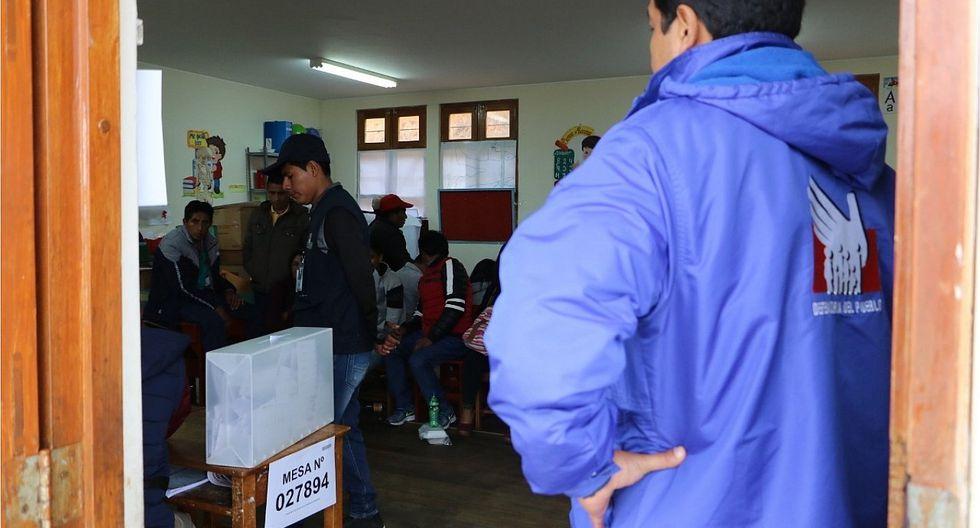 Piden activar comité de seguridad para elecciones complementarias