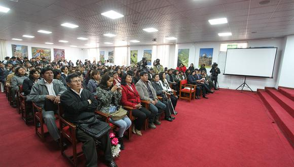 Asignan más de 500 plazas de Salud para el Hospital Regional y Lorena en Cusco