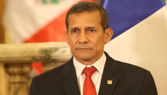 """Ollanta Humala consideró que los congresistas que votaron a favor de la vacancia de Martín Vizcarra también deberían ser juzgados por este tipo de delitos y aseguró que no se trata de respaldar a Antauro Humala, sino más bien """"de justicia"""". (Foto: Archivo El Comercio)"""