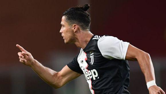 Cristiano Ronaldo ya llegó a los 24 goles en la presente temporada de la Serie A. (Foto: AFP)