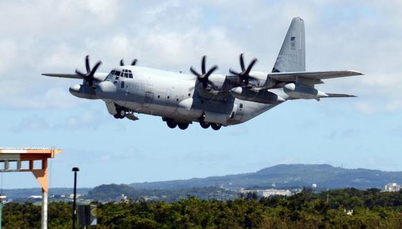 Un avión Lockheed Martin KC-130 de la Infantería de Marina de los Estados Unidos. (Foto referencial: EFE)