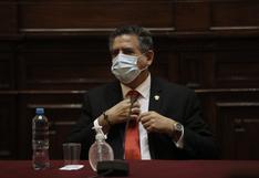 """Manuel Merino: """"Descartamos cualquier tipo de blindaje (a Edgar Alarcón)"""""""