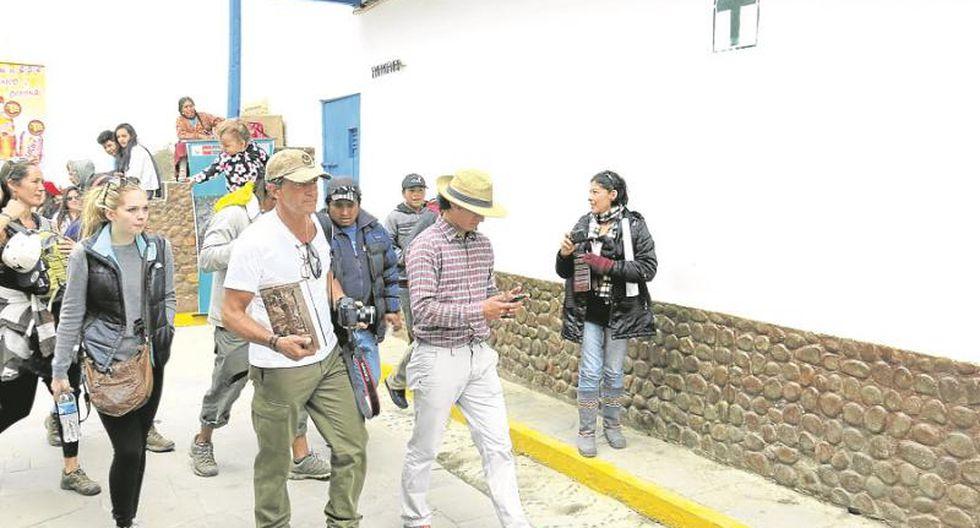 Antonio Banderas lloró al ver Machu Picchu