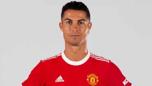 Cristiano Ronaldo conversó con el medio oficial de Manchester United. (Foto: Manchester United)