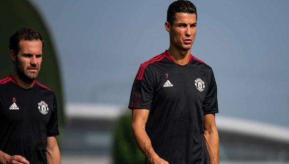 Cristiano Ronaldo firmó contrato con Manchester United por dos temporadas. (Foto: Manchester United)
