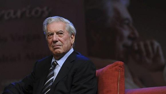 """Vargas Llosa: """"escribir es una vocación extraordinaria que enriquece mucho la vida"""""""