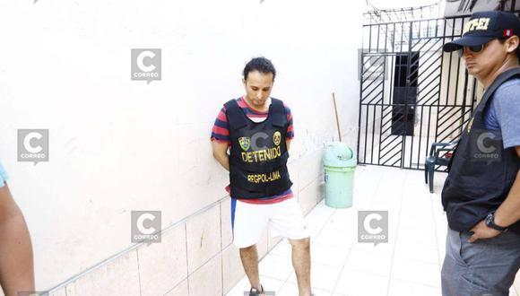 Gerald Oropeza: Capturan a Carlos Sulca, alias 'Chato Catri', mano derecha de empresario (FOTOS)