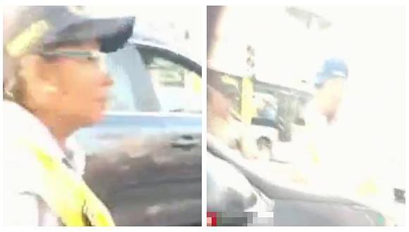 Cercado de Lima: Conductor atropella y arrastra a inspector municipal