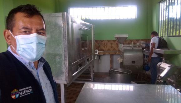 Inspección al local donde funciona la secadora/foto:Diario Correo