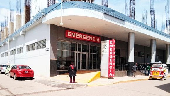 El paciente estuvo siendo atendiendo en un establecimiento privado. (Foto: Difusión)