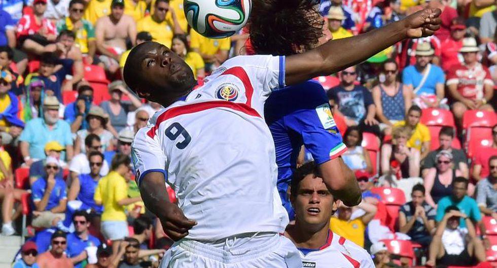 Brasil 2014: Costa Rica clasifica a octavos tras ganar a Italia por 1 a 0