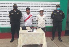 """""""Los Malditos del Cerro Cabras"""" caen con pistola y balas en Trujillo"""