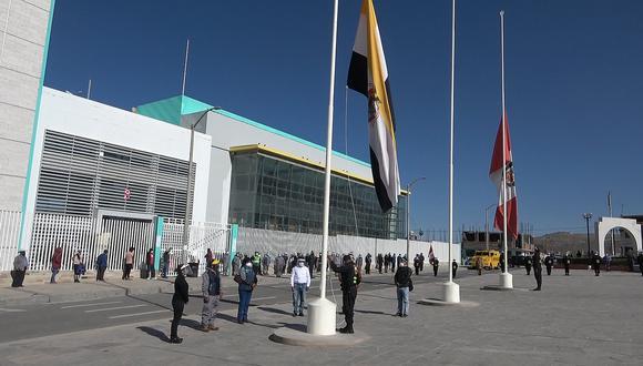 Izan bandera a media asta en Yura por muerte del alcalde Ángel Benavente