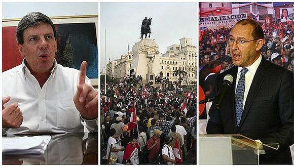 Peruanos por el Kambio, Acción Popular y el Frente Amplio respaldan marcha contra designación del BCR