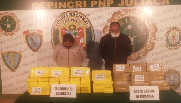 La droga fue incautada por las autoridades policiales.