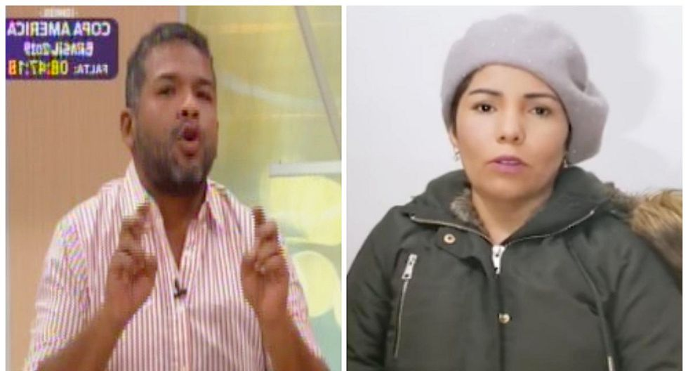 """'Choca' Mandros: """"Susan Ochoa estaba contenta y salió tranquila y feliz del programa"""" (VIDEO)"""