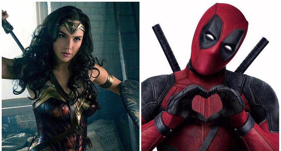 Deadpool celebra éxito de Wonder Woman con tierna imagen y ella responde (FOTO)