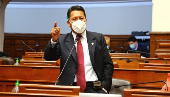 Orlando Arapa Roque, espera que se su proyecto sea aprobado por el Congreso de la República. (Foto: Difusión)