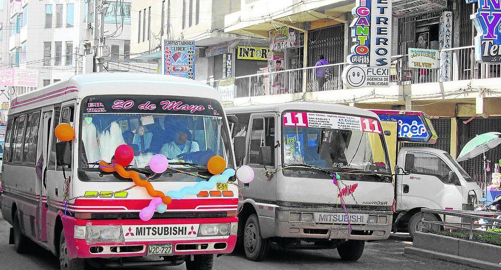 Transportistas de Juliaca no están dispuestos a cambiar de unidades vehiculares