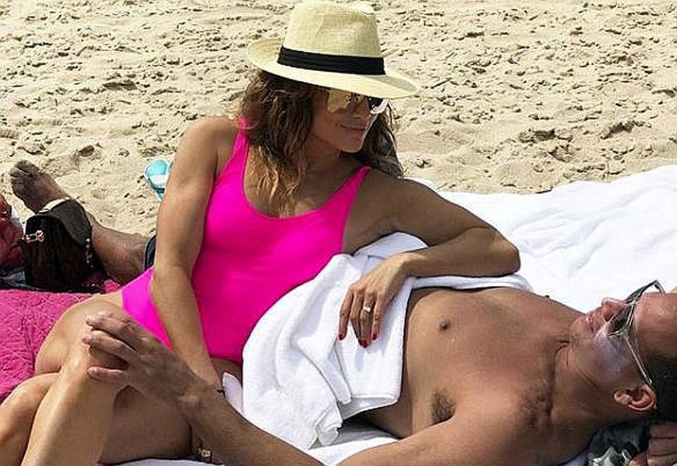 Jennifer López y Álex Rodríguez disfrutan de sus vacaciones de Italia (FOTOS)