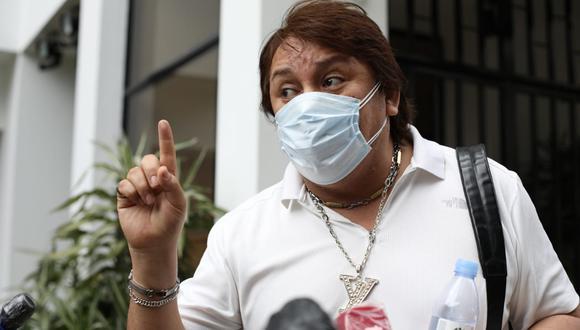 """""""De la manera más arbitraria, más desproporcional, me ponen en una situación de indefención total"""", consideró Cisneros. (Foto: Ángela Ponce / @photo.gec)"""