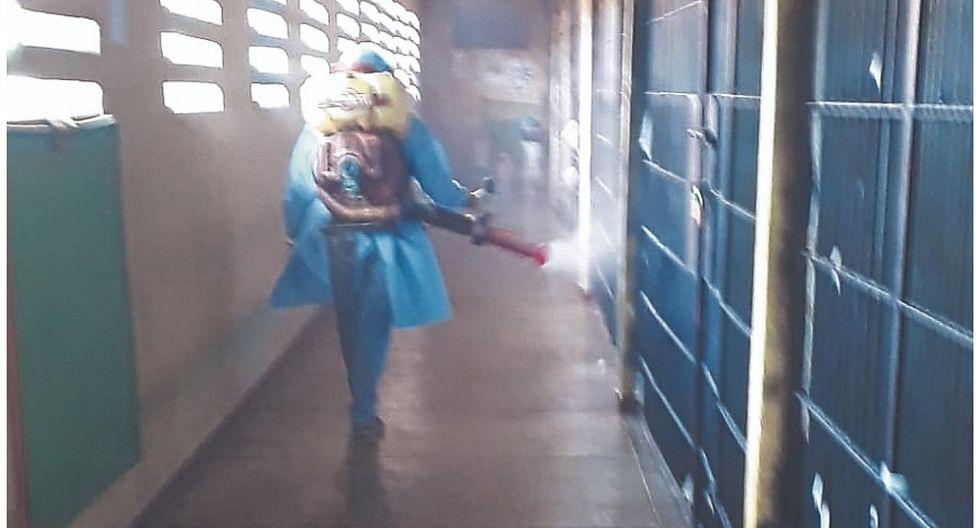 Reemplazan a médico y fumigan en el penal de Puerto Pizarro
