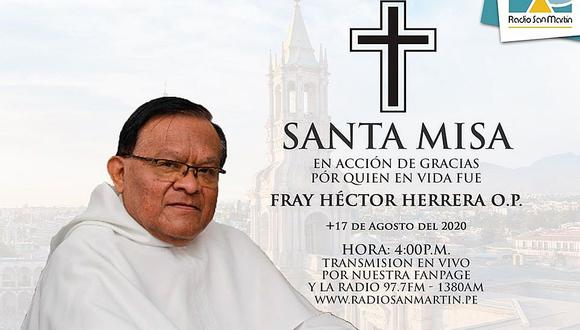 Muere sacerdote en Arequipa y con él suman a 3 los fallecidos por coronavirus