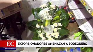 Lince: extorsionadores amenazan a bodeguero y le piden fuerte suma de dinero (VIDEO)