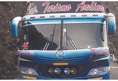Áncash: Encapuchados asaltan ómnibus en sierra de Huari