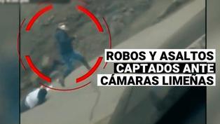 Imágenes de asaltos y robos captados por cámaras