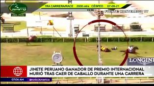 Jinete falleció al caer de caballo durante carrera en el Hipódromo de Monterrico