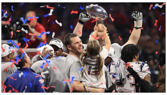 Patriots ganaron el Super Bowl tras vencer 13-3 a Los Angeles Rams