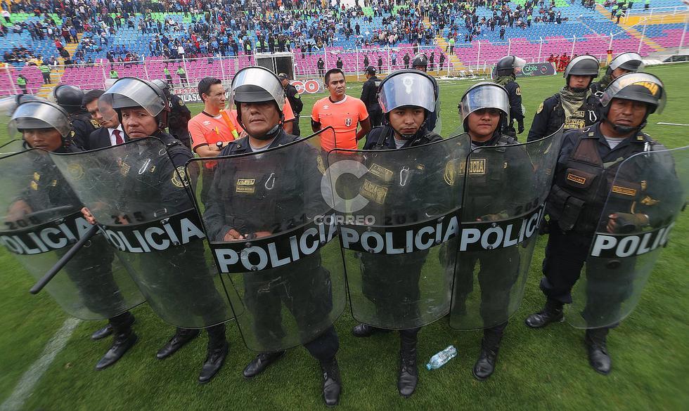 Copa Perú: Deportivo Garcilaso VS. Deportivo Llacuabamba termina en bronca (FOTOS)