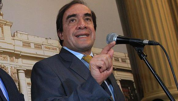 Yonhy Lescano indicó que la bancada de Acción Popular estaba incurriendo en errores. (Foto: El Comercio)