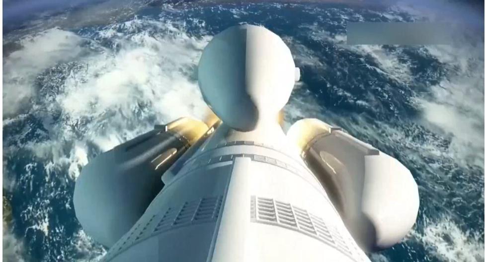 Cohete chino fuera de control cae en la Tierra esta noche